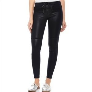 Taylor Hill x Joe's Icon Coated Ankle Skinny Pants